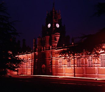 1969 : The Royal Holloway College At Night