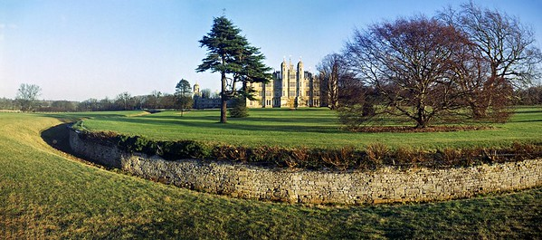 2006 : Burghley House And Its The Ha-Ha
