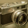 Minolta Hi-Matic 7S produced in 1966.
