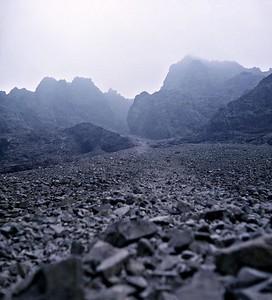 1973 : The Sgurr Alisdair Stone Chute