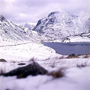 1972 : Sprinkling Tarn and Great Gable