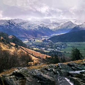 1972 : Borrowdale From Puddingstone Bank