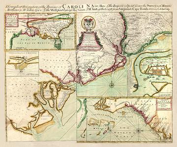 Vintage Carolina Maps