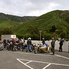 Waiting to board the ferry in Picton