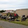 Outside the bike museum at Seddon