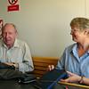 Terry & Lynda on the ferry
