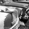 Vintage hood ornament, Vinatge Cars B & W