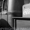 """A vintage Chevrolet truck & Coca Cola at Fisher, Illinois"