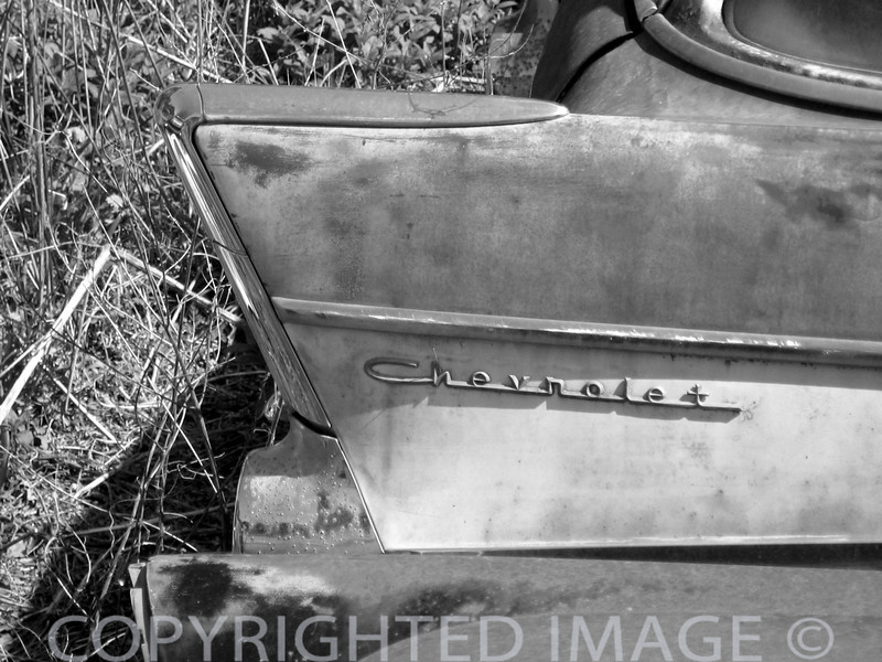 Vintage Cars B & W