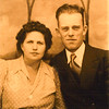 Juanita & Cecil Cameron. Cecil was the brother of Mable Cameron Wild.  He was born Dec 16, 19807 and passed away Dec 23 1954.  He married Juanita on Jun 30 1928.    They had 6 children, Billy, Cecil Jr., Betty Ann, Claude, Clauddean & Donald Roy.