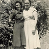 Left - Alta Cameron Cross Cowen<br /> Right - Ella Cameron Cross Cowen - Sisters of Mable Wild<br /> Alta was born Sept 2, 1911.  She married Charlie Cross Oct 27, 1928.  They had 4 children (Carl, Norma Jean, Eugene and Earl Wesley Cross).  Alta later married Clyde Cowen.<br /> Ella was born Dec 25, 1915.  She married Neal Cross Dec 25, 1933. They had 4 children (Edwin, Charles George, Jimmie Ray, and Ronnie Cross).  She later married Ralph Cowen.  They had 5 children (David Lowell, Eunice, Cecil Troy, Darrell Dean and Alta May Cowen.)<br /> Sounds like these sisters may have married two sets of brothers.