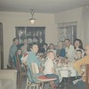 Christmas 1967 - Ray, Zulie, Pat, Paula Brewer, Wes Brewer, Grandma Gladys Clouse, David, Sue Brewer, Wilmia Clouse (David's Great Grandmother), Tom, Billie Brewer, Dan, Grandpa Alvin