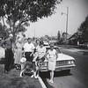 Alvin Clouse, Sharon & Sally Maxwell, Jim and Claudia - Jun 29, 1964