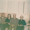 Zulie, baby Ray & Tom Clouse, Gladys & Alvin Clouse, Wilmia Clouse - Chirstmas 1964