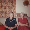 Aunt Mary Clouse & Wilmia Maxwell Clouse - Christmas 1965