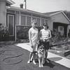 Sharon & Sally Maxwell, Nikki dog June 29,1964 - La Mirada