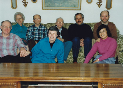 1986 - Back row - Edward Wild's 2nd wife, Edward Wild, Emery Wild, Dale Wild, Paul Wild Front Row - Frank Clouse, Leah Clouse, Cindy Clouse (Paul's wife) Edward & Emery are brothers.  Dale, Paul & Leah are first cousins.