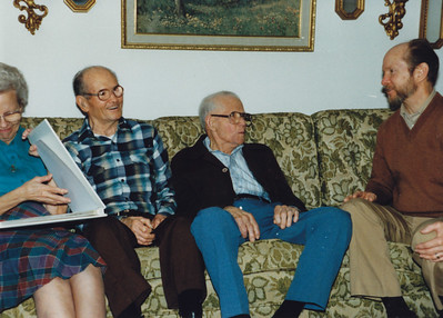 1986 - Edward Wild & his 2nd wife, Emery J. Wild, Paul Wild