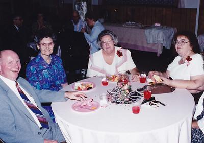Gene Logston,  ????, Phyllis Logston, JoAnn Ingram (Left to Right)