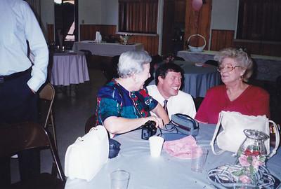 Zulie Clouse, David Clouse, Harriett Clouse (Left to Right)