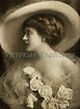 "Portrait of Victorian woman with large hat, veil, roses - a vintage photograph. NOTE: This image is only available in the 1-megapixel size (the 4-megapixel and ""Original"" size should not be purchased, as they are still only 1-megapixel when opened)."