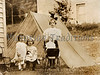 "Little girls playing house in backyard with their dolls - a vintage photograph. NOTE: This image is only available in the 1-megapixel size (do not waste your money on the 4-megapixel or ""Original"" size, as they are still only 1-megapixel when opened :)"