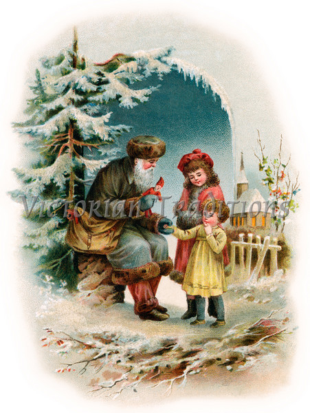 """Your purchased prints & downloads will NOT have """"Victorian Traditions"""" watermark."""
