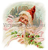 "'Father Christmas' - an old-fashioned wintery Santa Claus illustration - circa 1905. Your purchased prints & downloads will NOT have ""Victorian Traditions"" watermark."