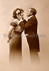 Victorian romance - a couple in love - circa 1915 photograph