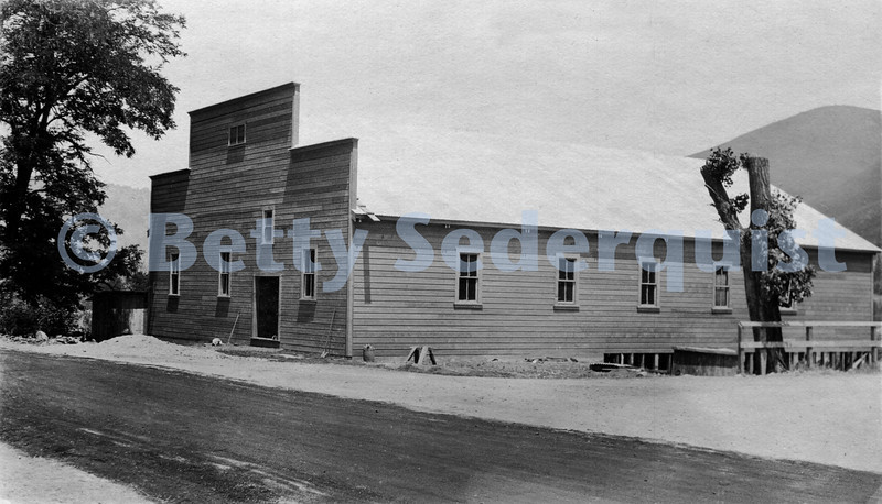 Coloma Community Hall, 1920s