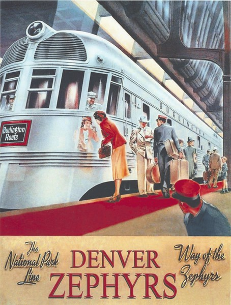 Denver Zephyr Train