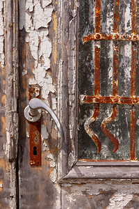 Old Rusted Door