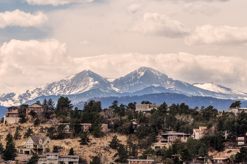 The view from Mahaffey Park-Loveland, CO