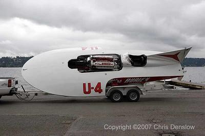 2007 Vintage Hydroplane Test