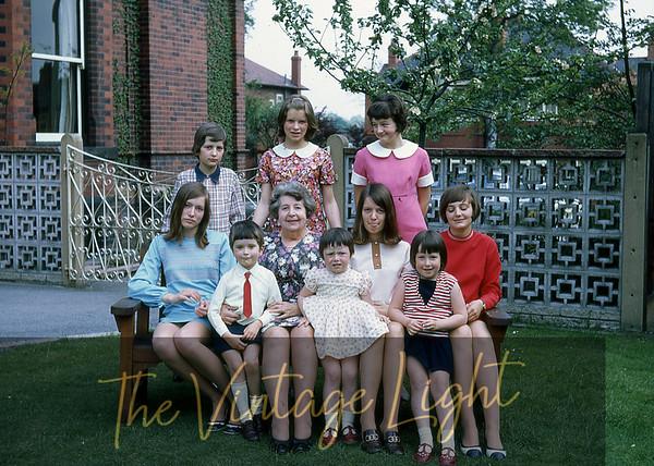 1970 May - Nanna and grandkids