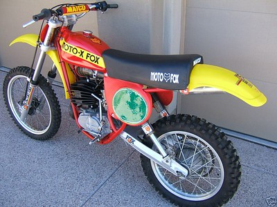 1978 Moto Fox Maico 250