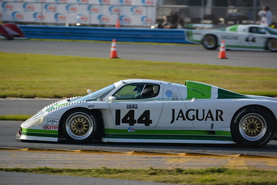 '85 Jaguar XJR-7 and '88 Jaguar XJR-5