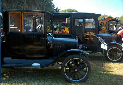 1921 Ford Model T Canopy Express (Produce Truck)