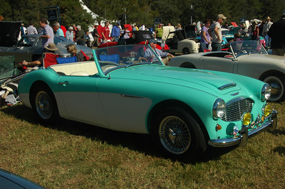 "1960 Austin-Healey 3000 in ""Florida Green"""