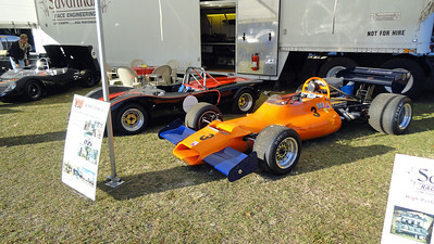 Savannah Race Engineering's display at the Hilton Head Concours d' Elegance
