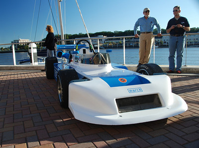 Tom Fraelich / 1979 March Super Vee at the reception for historic race cars held at the Westin Savannah Harbor Resort