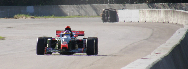Michel Gensini/1999Lola Formula 3000/ Sharon Infandino photo