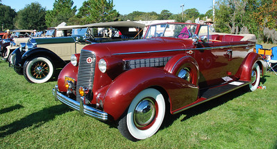 1936 Cadillac Series 85 Convertible Sedan