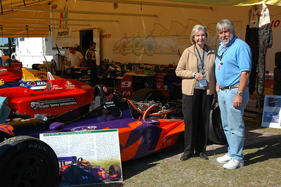 Janet Guthrie and Ted Wenz