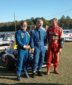 Tom Fraelich, Chris Forrer and Brian Elliot