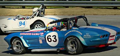 #63 Ken Hazelton 1963 Corvette