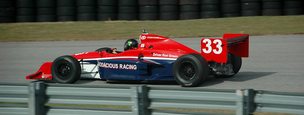 Ron Green 2002 Dallara Indycar