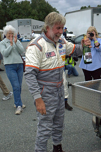 Ted enjoying some champagne after his 1st place finish.  Thank you Wayne Owens for the photo!