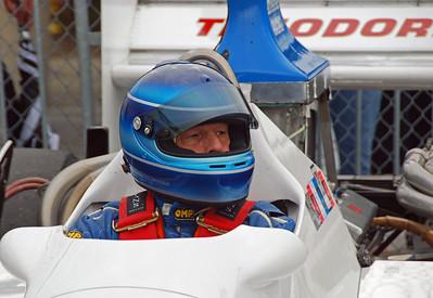 Eddie Claridge 1982 Theodore Ty02 Formula 5000