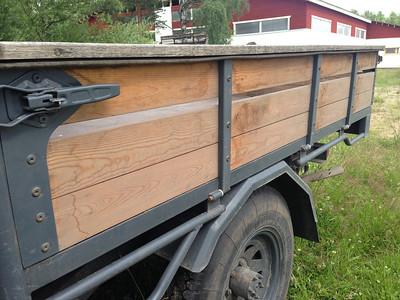 Oulainen Weteraanikonepäivät 2013 - Toyota Land Cruiser BJ-45 Nice mud guards, too